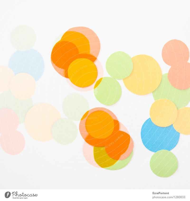 Blue Green Colour White Joy Yellow Style Background picture Line Bright Design Orange Elegant Esthetic Circle Sign