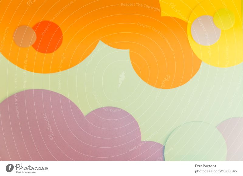 Green Colour White Red Joy Yellow Style Background picture Line Orange Design Elegant Happiness Esthetic Circle Sign