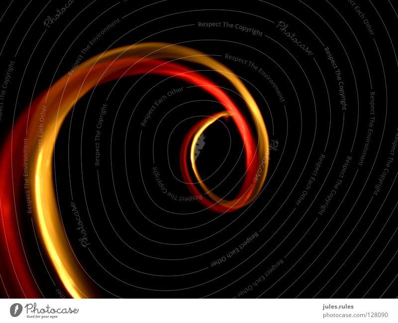 Red Yellow Warmth Circle Physics Spiral Screw Laser Swirl Laboratory Photo laboratory