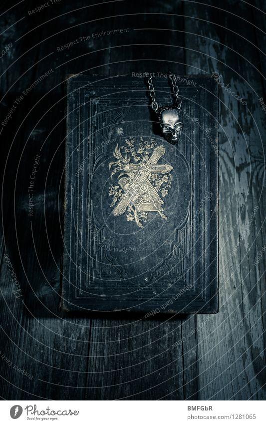 Dark Death Fear Power Dangerous Threat Retro Sign Symbols and metaphors Fear of death Belief Creepy Exotic Crucifix Distress Magic