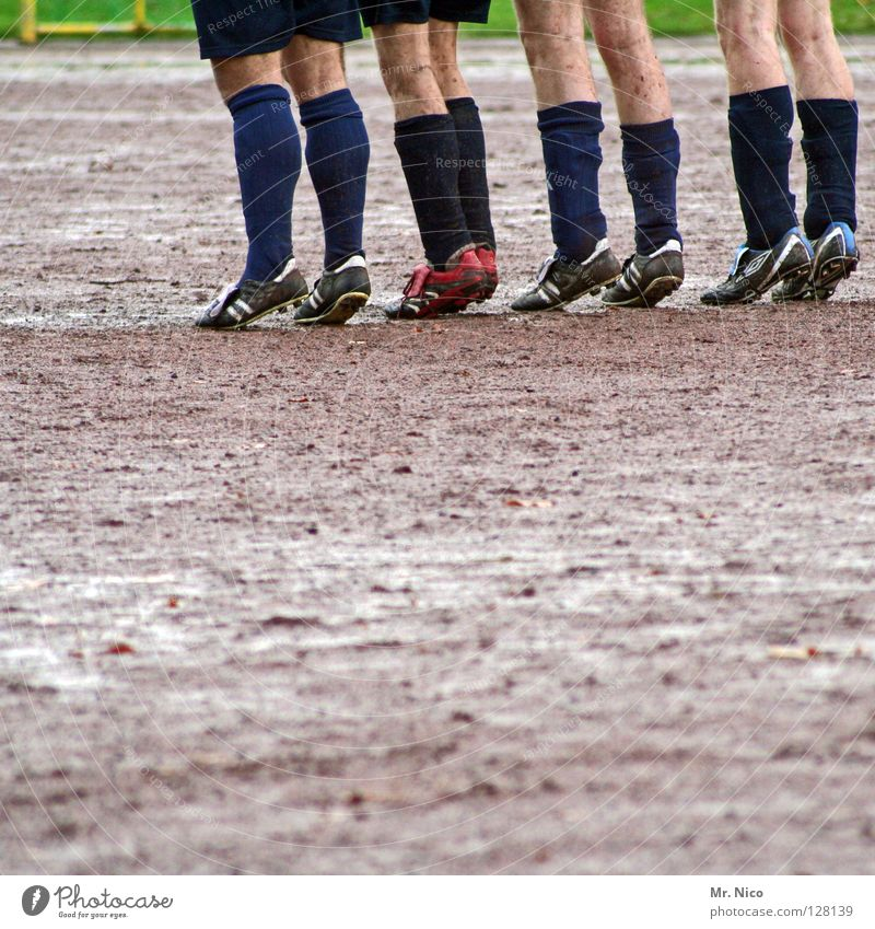Man Green Red Black Yellow Meadow Sports Gray Legs Rain Footwear Together Dirty Skin Soccer Sports team