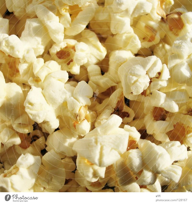 PopCorn Food Grain Nutrition Pan Theatre Cinema Film industry Video Chimney Microwave Fresh Delicious Yellow White Appetite Popcorn Corn kernel Crunchy Salty