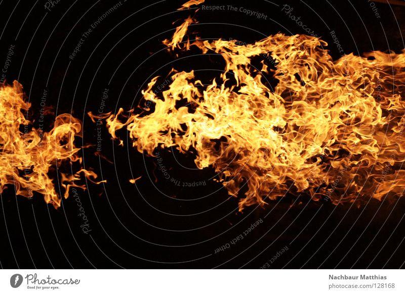 Red Black Blaze Fire Hot