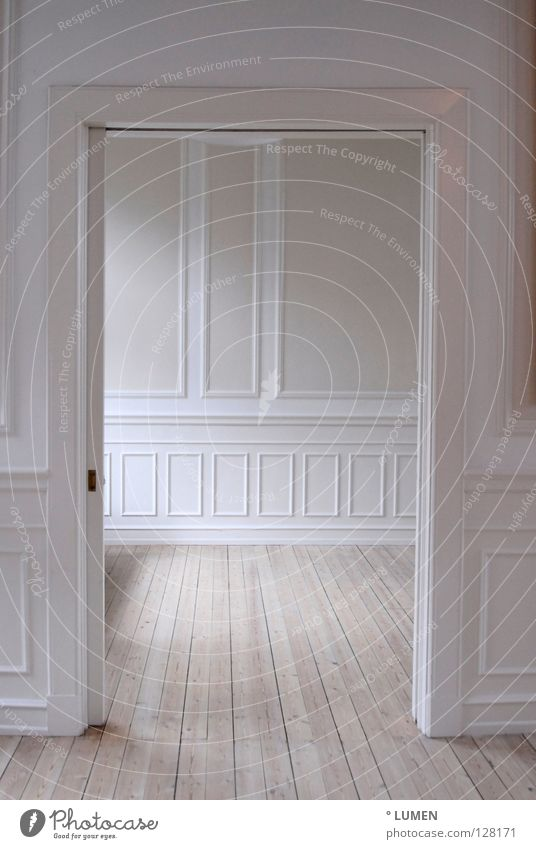 Old White Colour Wall (building) Wood Interior design Bright Door Room Open Flat (apartment) Pink Empty Perspective Lifestyle Floor covering