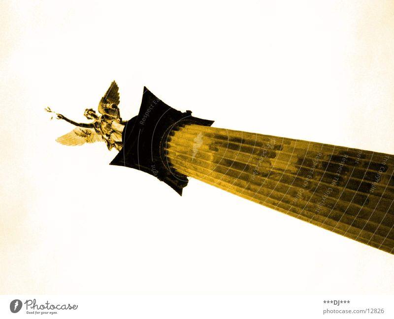 statue Munich Bavaria Architecture traffic jam Gold