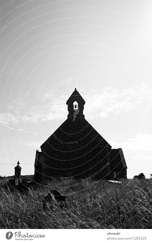 High Noon Village Church Manmade structures Architecture Wall (barrier) Wall (building) Grief Mysterious Belief Religion and faith Death Creepy Horror film