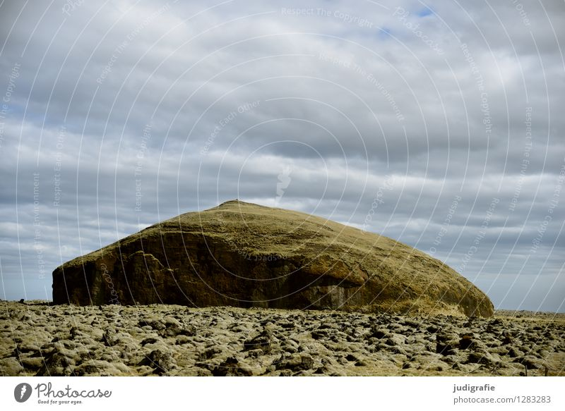 Sky Nature Landscape Environment Natural Exceptional Climate Elements Iceland Volcano Lava field