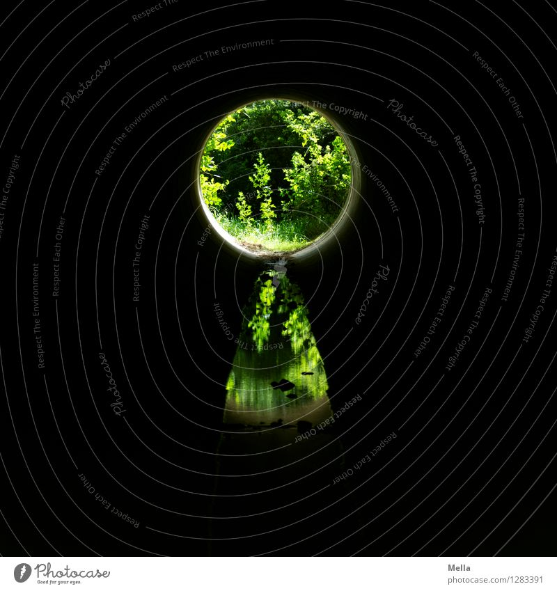 Keymaster seeks goalkeeper Environment Nature Plant Tunnel Lock Dark Round Green Black Emotions Hope Belief Discover Expectation Mysterious Curiosity Optimism