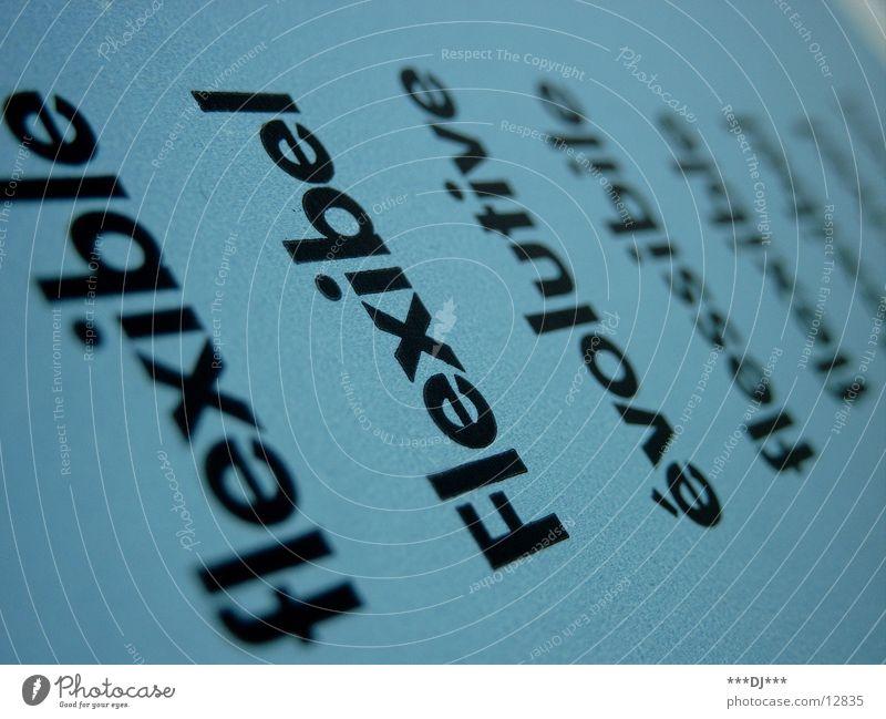 Blue Letters (alphabet) Americas Word Flexible Language Foreign language Text Photographic technology