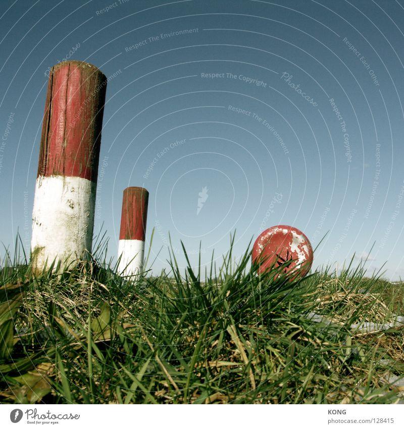 Sky White Blue Red Meadow Grass Blaze Industry Lawn Hide Blade of grass Pole Fire department Sky blue Warn Erase