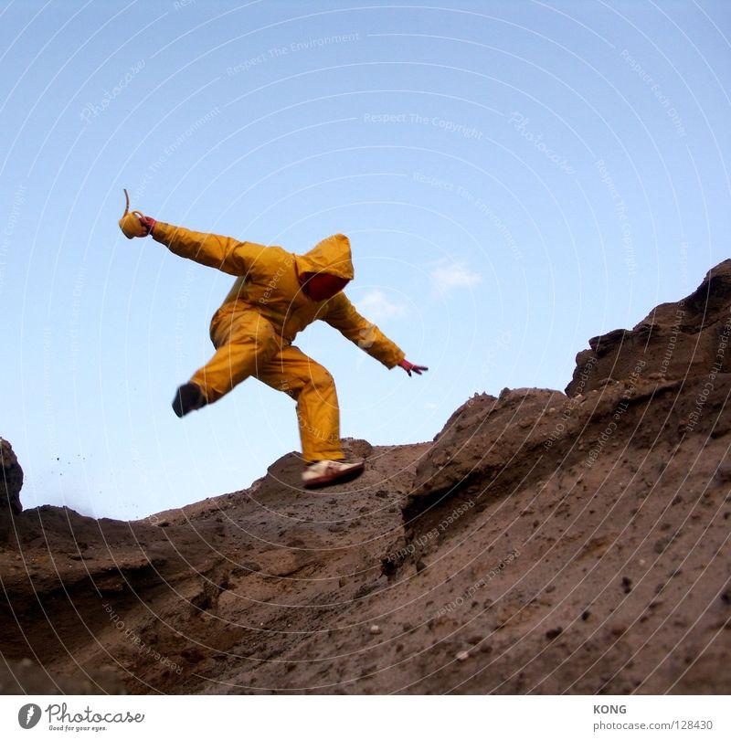 Joy Yellow Mountain Gray Jump Earth Power Flying Walking Speed Force Aviation Gloomy Wing Mask Suit