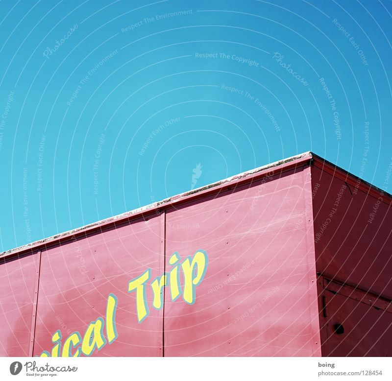 Vacation & Travel Trip Transport Characters Letters (alphabet) Logistics Truck Crate Container Shipping