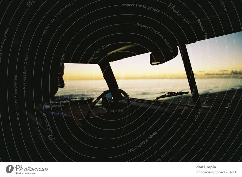 Human being Old Car Africa Analog Vintage car Tractor Fuerteventura Motorsports Unprocessed