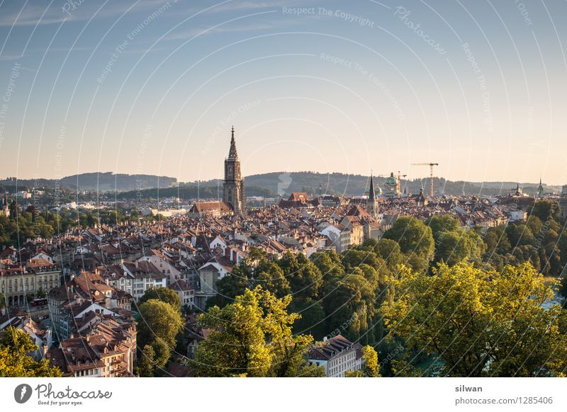 Bern Bern Bern Bern Bern Bern ... Berne Switzerland Europe Capital city Outskirts Old town Skyline Church Dome Münster Berne Famousness Sharp-edged Glittering