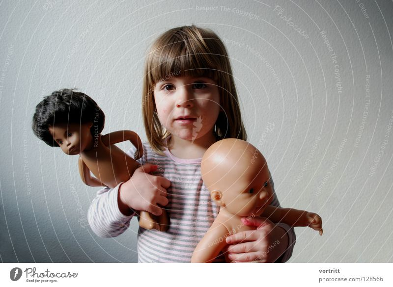 Child Girl Animal Dark Wall (building) Playing Gray Hair and hairstyles 2 Bright Shows To hold on Toddler Statue Indicate Attempt