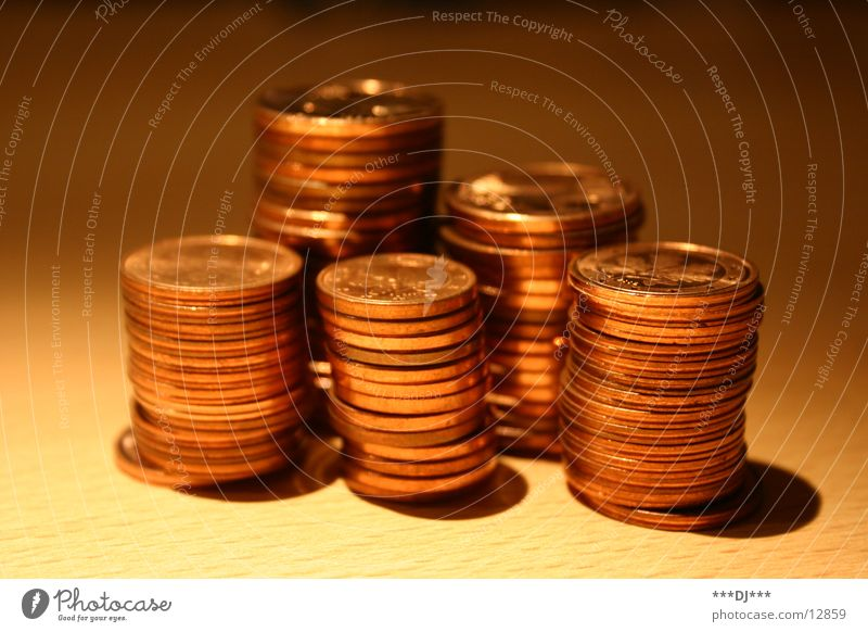 Money doesn't stink! Coin Cent Paying Lease Debts Europe Bronze Embossing Copper