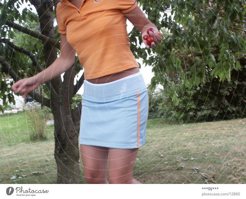 Woman Tree Summer Feminine Fruit Delicious Top Skirt Mini skirt