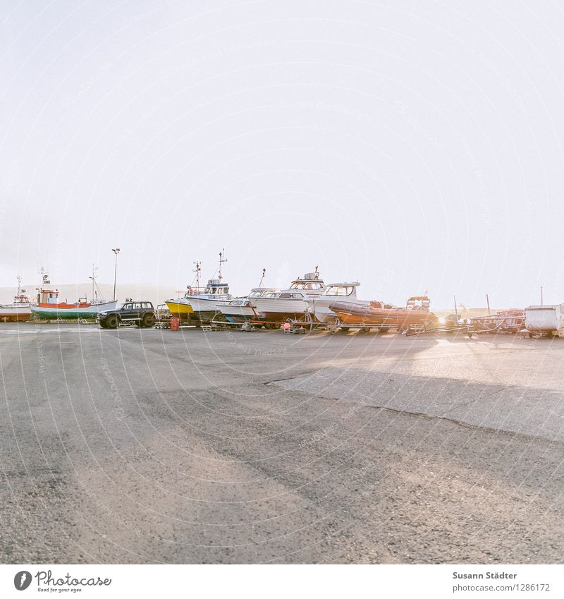 Iceland Port City Harbour Means of transport Ferry Fishing boat Sport boats Yacht Motorboat Sailboat Sailing ship Yacht harbour Work and employment Húsavík