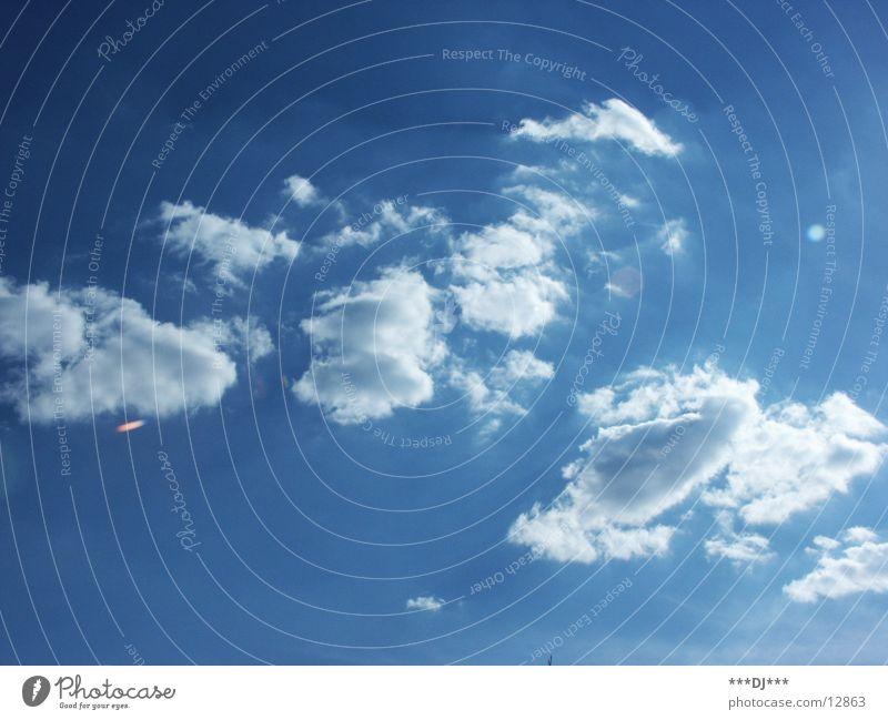 Sky Sun Blue Summer Wind Shows Brilliant