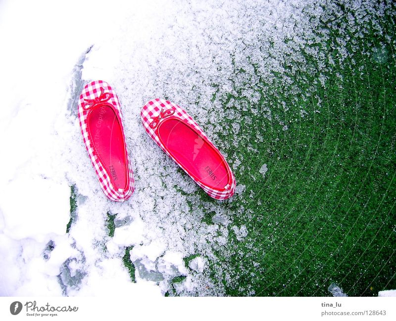 Green White Red Summer Winter Meadow Snow Spring Footwear Lawn Checkered Cycle Ballerina