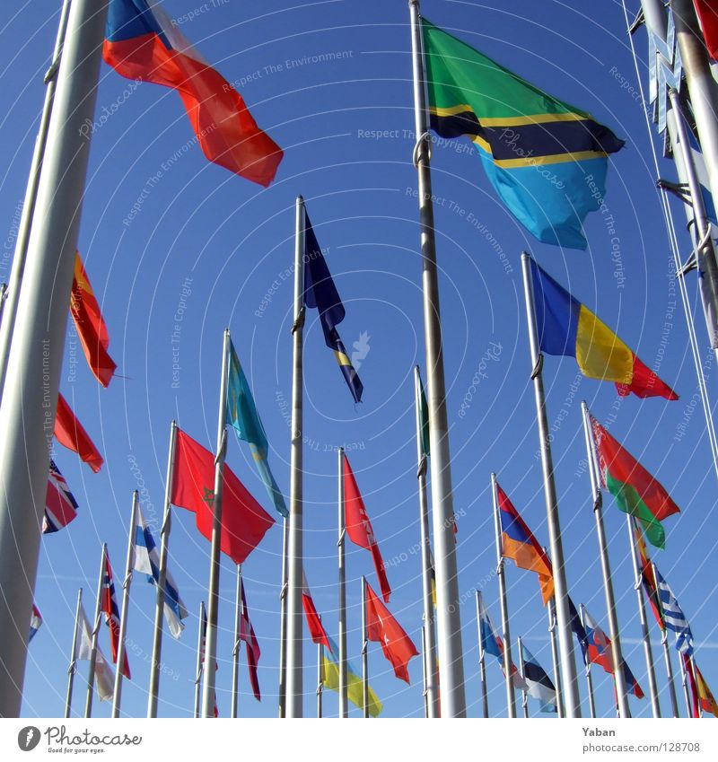 Tansania & friends Earth Wind Signs and labeling Communicate Flag Greece Turkey Connectedness Language Flagpole Finland International Global Morocco Development