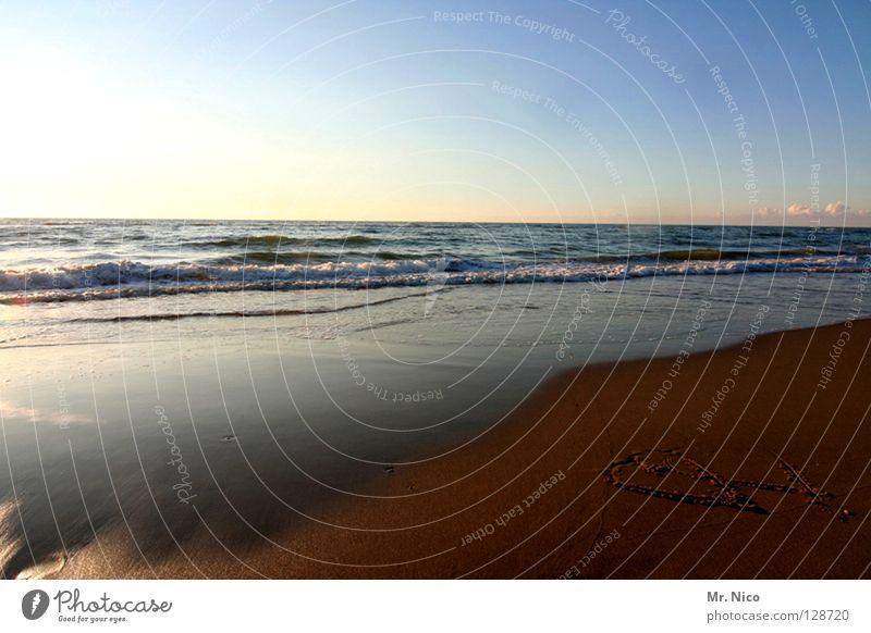 Water Sky Sun Ocean Blue Beach Vacation & Travel Dark Couple Lake Sand Moody Brown 2 Together Lighting
