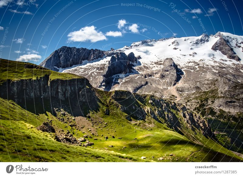 Dolomites V Relaxation Calm Summer Summer vacation Mountain Nature Landscape Sunlight Beautiful weather To enjoy Vacation & Travel Esthetic Exceptional Gigantic