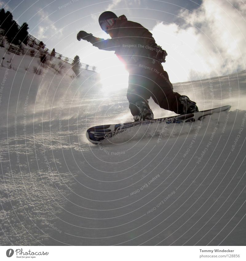 Human being Sky Nature Vacation & Travel Man Blue White Sun Landscape Joy Winter Cold Mountain Snow Sports Jump
