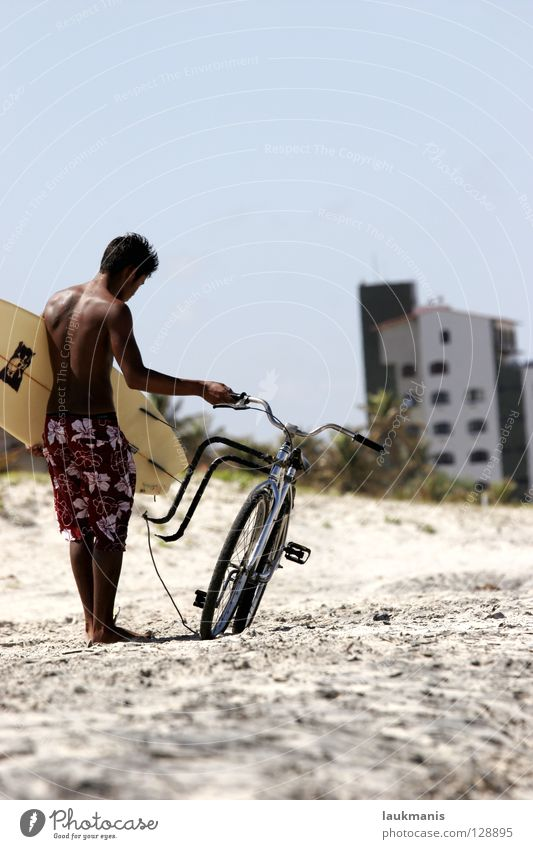 Surf&Bike Brazil Bicycle Surfing Surfer Beach Dark Shorts Sports Joy board combination Skin fall lines Bermuda Sand Funsport do-it-yourself construction