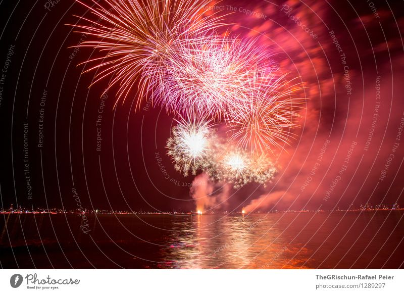 Fireworks 4 Artist Stage play Multicoloured Yellow Violet Pink Red Black Emotions Moody Joy Long exposure Painting (action, artwork) Visual spectacle Light