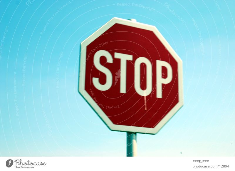 STOP Stop Hold Red Rod Road sign Driving school Transport Stay from End Signs and labeling Sky Signage