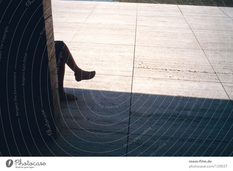 Human being Calm Relaxation Footwear Contentment Sit Break Serene Breathe Knee Siesta Shadow play Midday sun