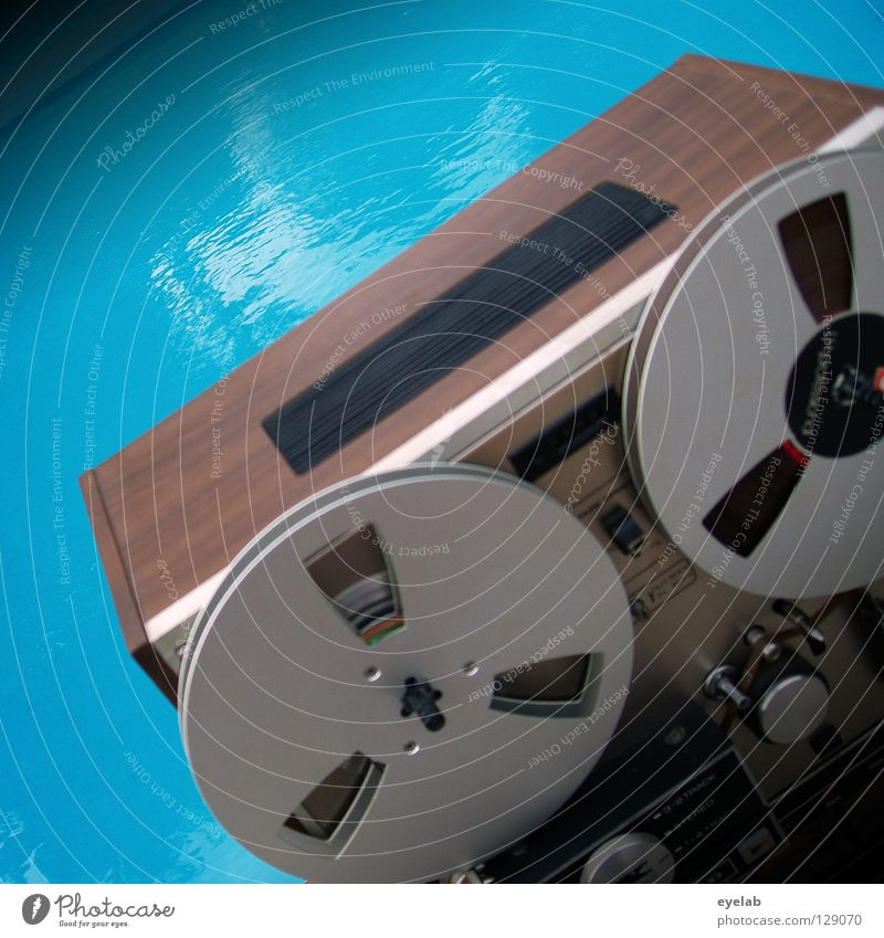 Sky Blue Water Summer Tree Wood Garden Metal Music Large Beginning Technology Retro Swimming pool Stop Listening