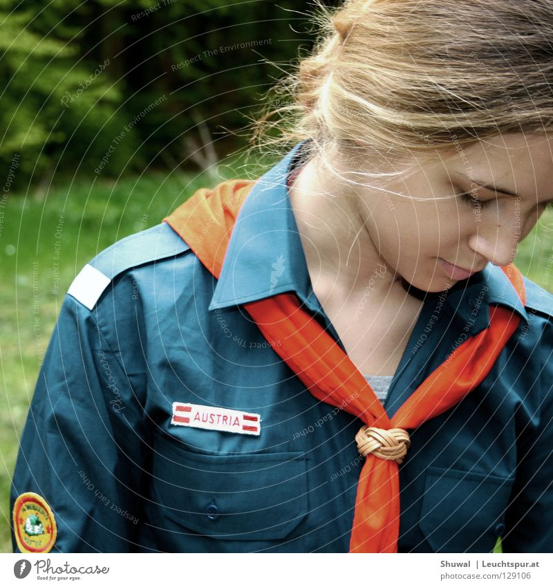 the last girl scout Scouts Lanes & trails Neckerchief Shirt Costume Uniform Knot Youth (Young adults) Youth culture Youth movement Christianity Fireplace