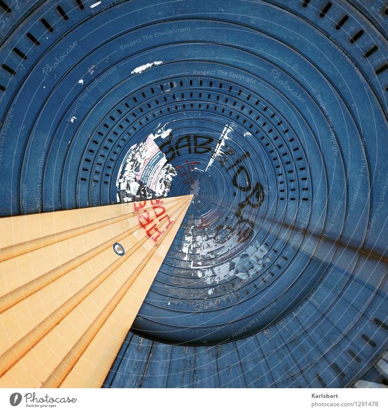 City Blue Wall (building) Street Wall (barrier) Art Line Metal City life Design Circle Future Stripe Round Target Geometry