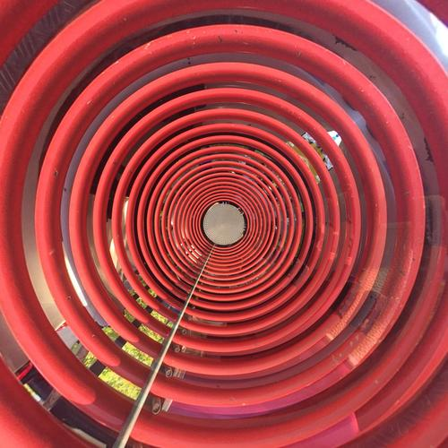 red circle Design Technology Energy industry Renewable energy Industry Art Work of art Metal Line Network Movement Inspiration Town Swing Circle