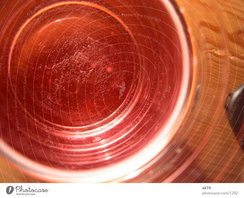 Water Red Glass Blow Alcoholic drinks