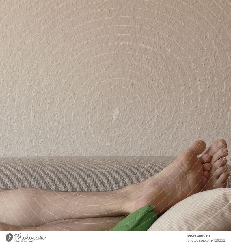 Human being Man White Green Calm House (Residential Structure) Dark Relaxation Work and employment Naked Wall (building) Playing Gray Feet Legs
