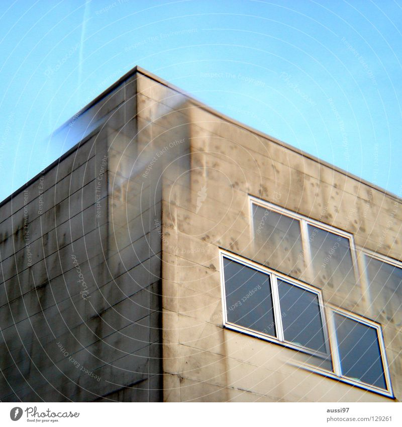 City High-rise Industry Roof Story Surrealism Strange Double exposure Smog Penthouse Prism