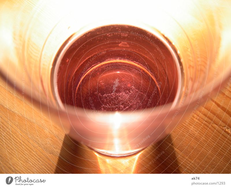 Red water 2 Alcoholic drinks Water Glass Blow
