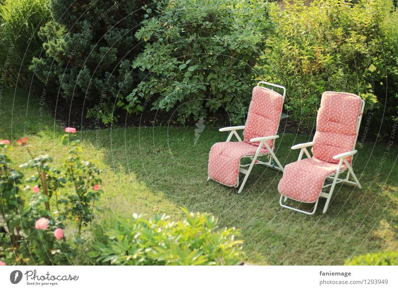 siesta scenery Lifestyle Wellness Well-being Contentment Relaxation Calm Vacation & Travel Summer Living or residing Garden Furniture Armchair Nature Sunlight