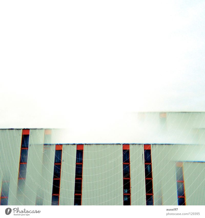 City High-rise Industry Modern Roof Story Surrealism Strange Double exposure Smog Penthouse Prism