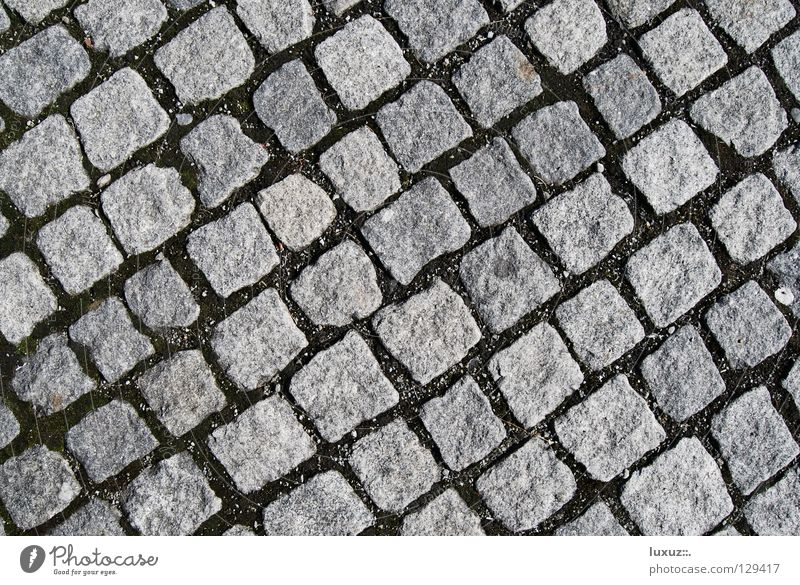 Street Gray Stone Places Floor covering Square Craft (trade) Row Historic Traffic infrastructure Cobblestones Diagonal Parking lot Classification Hard Paving stone