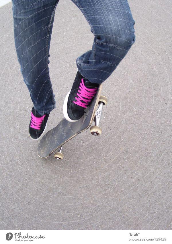 Black Gray Footwear Pink Leisure and hobbies Asphalt Skateboarding Shoelace