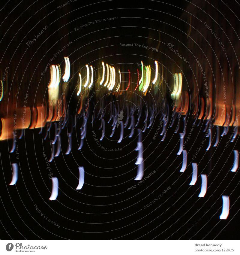 Life Dark Movement Dream Line Bright Glittering Design Castle Illuminate Sidewalk Surrealism Ease Puzzle