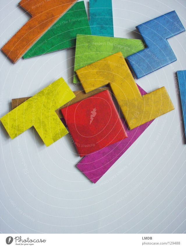 Green Blue Red Yellow Colour Playing Think Brown Orange Letters (alphabet) Speed Corner Violet Concentrate Square Part