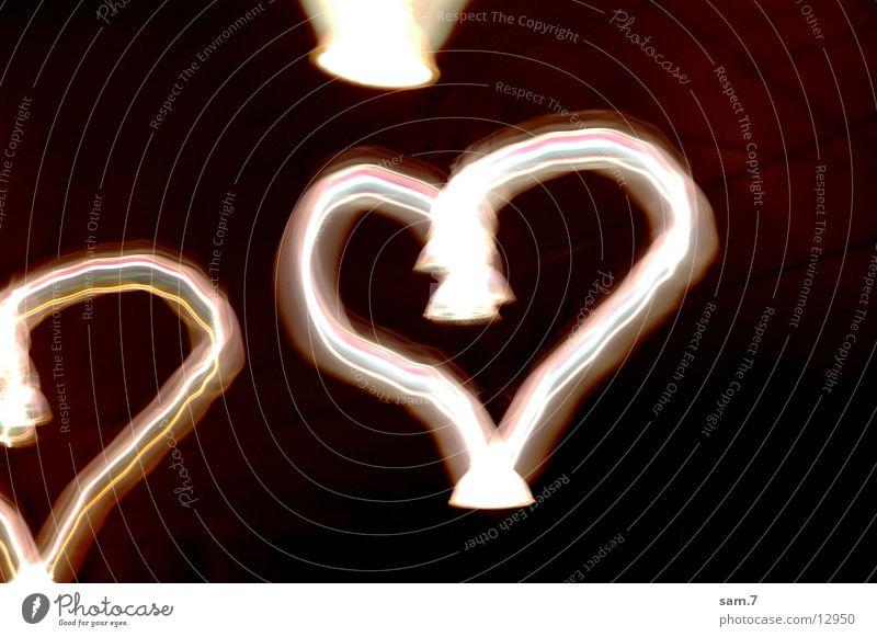 love Love Long exposure Heart