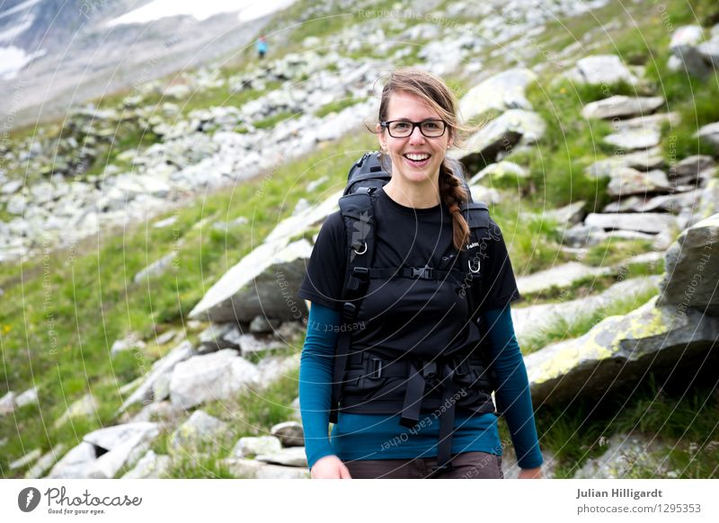 hiking pleasures Lifestyle Leisure and hobbies Vacation & Travel Tourism Trip Adventure Far-off places Freedom Summer vacation Mountain Hiking Sports