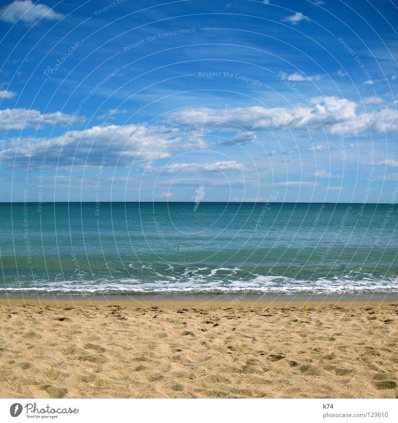 Water Sky Ocean Green Blue Beach Clouds Lake Sand Coast Horizon Earth Tracks Footprint Geometry Surf