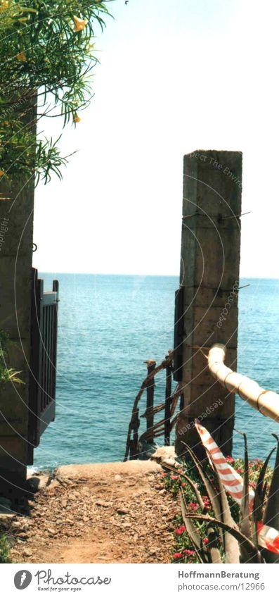 TorZumMeer Ocean Gomera Gate Door